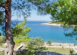 Maison de pêcheur Nikola 2 + 2 avec vue sur la mer, baie de Čigrađa, île de Murter