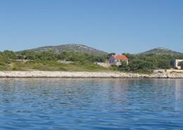Rybářský dům Željana 6 + 2, záliv Jota, ostrov Žižanj