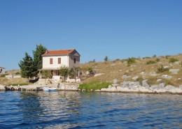 Rybářský dům Bizikovica 2 + 1, záliv Bizikovica, ostrov Žut