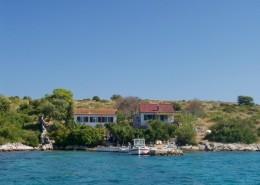 Rybářský dům Maslina 2 + 2, Záliv Podmuravnjak, Ostrov Žut