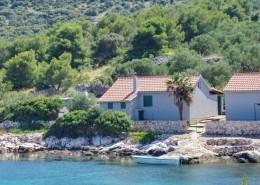 Rybářský dům Slavijan 4, záliv Dragišina, ostrov Žut