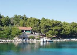 Rybářský dům Angela 4 + 1, záliv Dragišina, Ostrov Žut