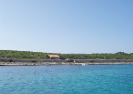 Rybářský dům Frane 4 + 2 na samotě, ostrov Gangaro