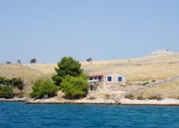 Rybářský dům Marino 6, na samotě, ostrov Kornat