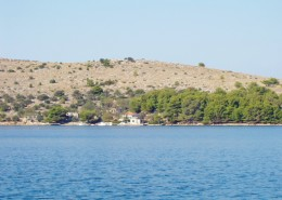 Rybářský dům Melita 4 + 1, Zátoka Podražanj, Ostrov Žut