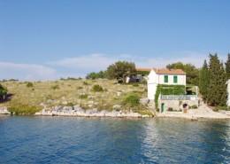 Rybářský dům Mladá 6 + 1, záliv Bizikovica, ostrov Žut