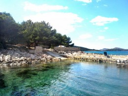 Ribarska kuća Mladen 2 + 2 s malom lukom, otok Radelj