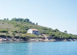Rybářský dům Neda 4 + 2 na samotě, ostrov Brušnjak