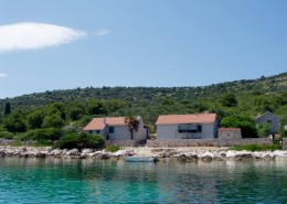 Rybářský dům Nives 4 + 1, zátoka Dragišina, ostrov Žut