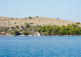 Rybářský dům Tina 4 + 2, zátoka Podražanj, ostrov Žut