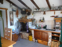 fishermen house boris-kitchen with fireplace