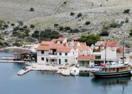Rybářský dům Željko 10, vyrovnání Vrulje, Ostrov Kornat