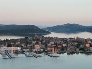 Panorama de Betina avec marina
