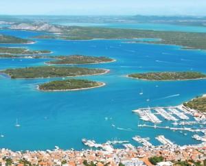 L'île de Murter-Marina Hramina